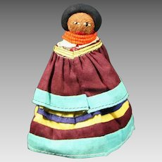 Native American Indian Tiny Seminole Doll