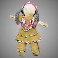 Native American Indian Tiny Seneca Doll
