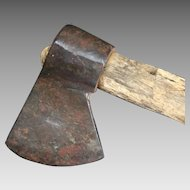 Native American Indian Belt Tomahawk or Squaw Axe