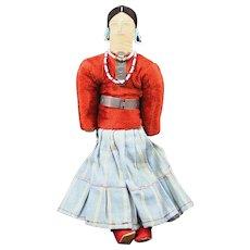 Native American Indian Navajo Doll