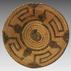Native American Pima Basket Bowl