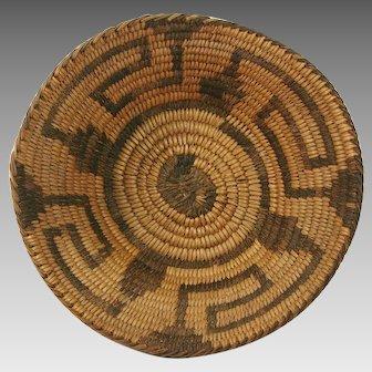Native American Pima Basket Bowl