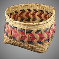 Native American Choctaw or Cherokee Basket