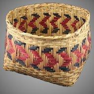 Native American Choctaw or Cherokee Basket