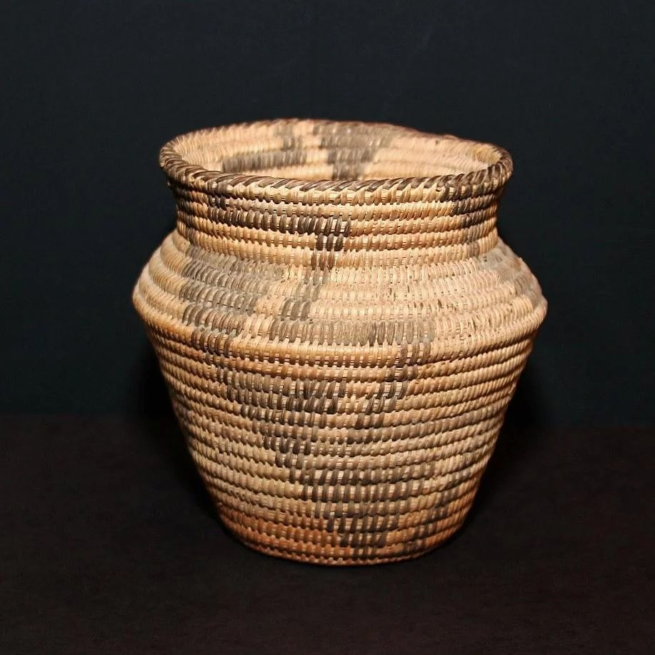 Antique Native American Indian Pima Basket Atoz Antiques