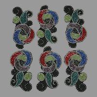 Native American Osage Beaded Designs