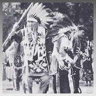 Post Card Tama Native American Indians Tama Iowa
