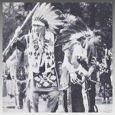 Post Card Tama Native American Indians Tama Iowa