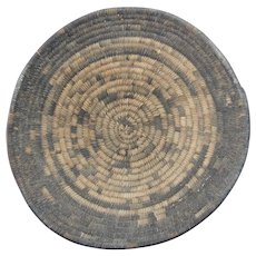 Native American Indian Papago Hand Woven Basket