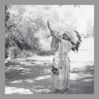 Native American Indian Real Photograph Woman Signing Lord's Prayer