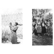 Photographs of Native American Quapaw Matilda Beaver in Florida