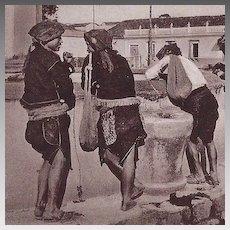 Real Photo Postcard Of Guatemala Native Americans