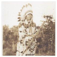 Real Photo Post Card Native American Kickapoo