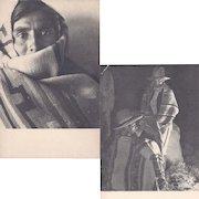 Two Native American Navajo Postcards