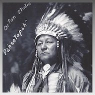 RPPC Native American Indian Pahsetopah