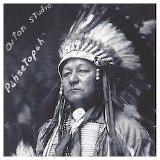 RPPC Native American Indian Pahsetopah