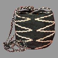 South American Ecuador Woven Shigra Basket