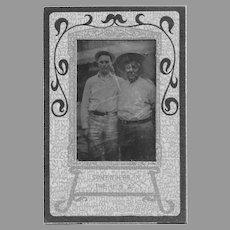 Tin Type Photograph Quapaw Alex Beaver