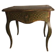 Beautiful and very rare French dolls dressing table