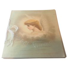 Victorian 'Angel Voices' Loose Leaf Book