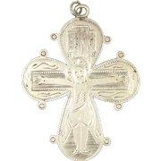 Queen Dagmar's Silver Crucifix Cross - Denmark