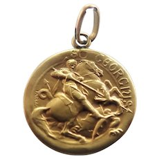 French St George Triple Gold Medal - TAIRAC