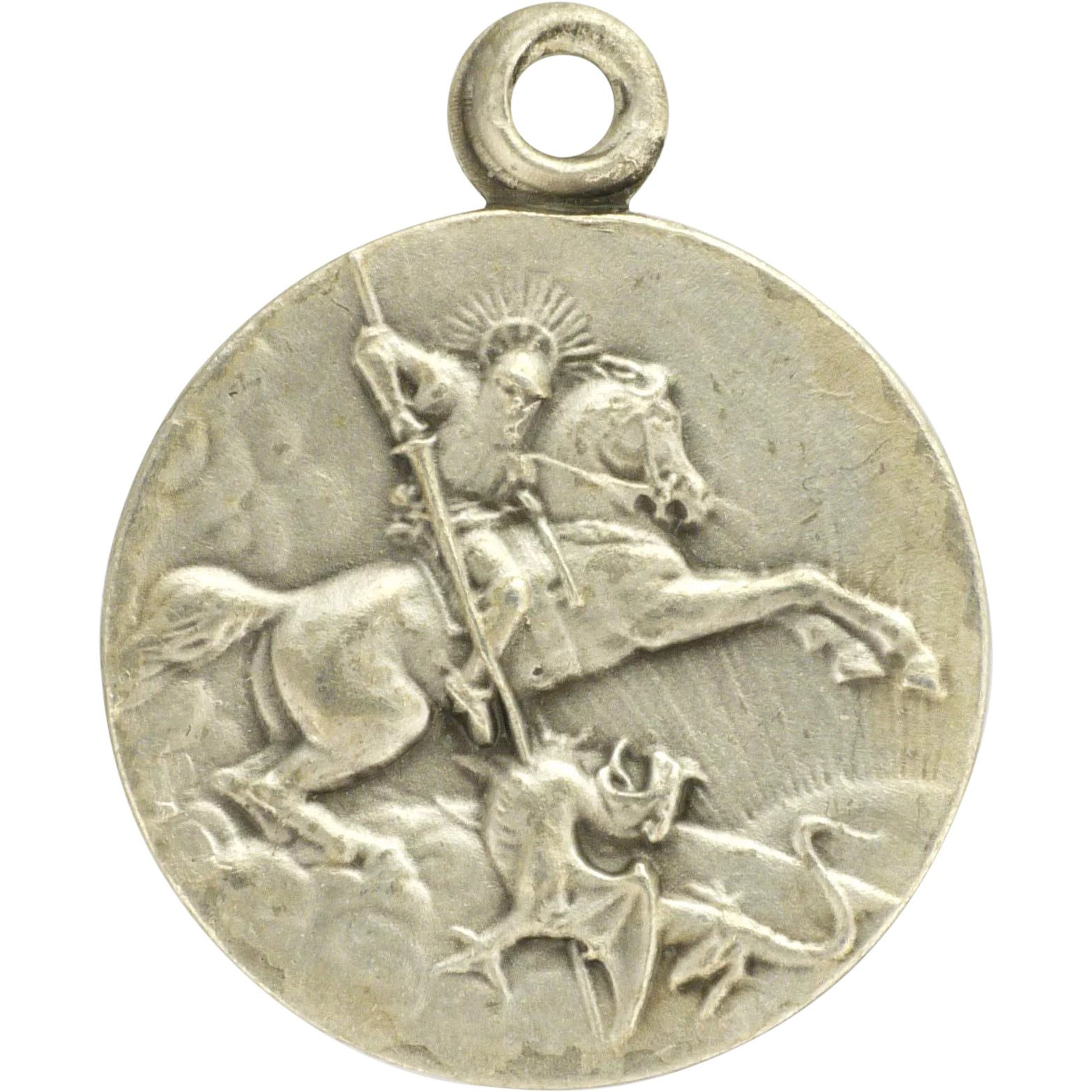 saint george l silver pendant sterling room property st necklace