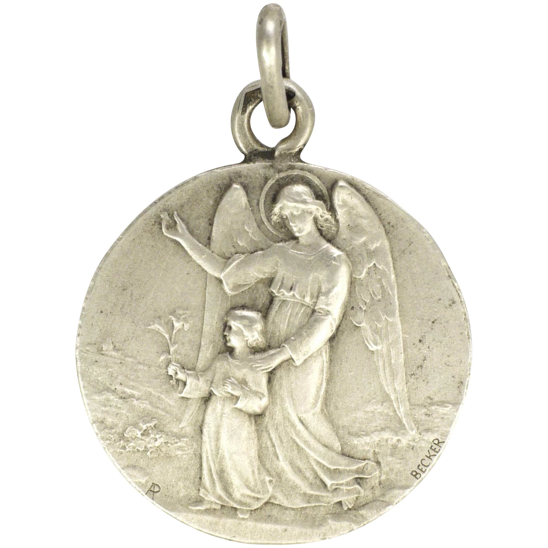 lockets s angel sterling silver guardian pendant baby views more guard