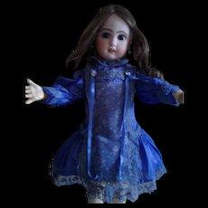 Vintage Purple Silk Doll Dress