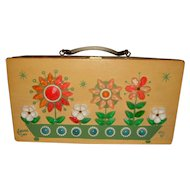 "Enid Collins ""Flower Box"" Vintage Box Purse"