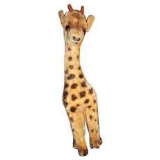 Older Cute Vintage Giraffe Toy
