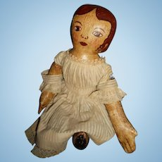 Artist Hand Made Oil Painted Rag Doll