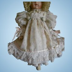 Pink Ribbons and Lace Doll Dress