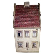 Antique Small Lithograph Doll House