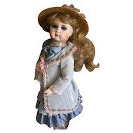 Vintage OOAK Artist Bisque Doll