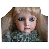 "Vintage Artist Bisque Doll ""Alice"" by Julia Rueger"