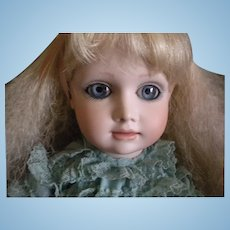 "Vintage Artist Bisque Doll ""Alice"" by Julia Rueger"