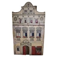 Antique Small Lithograph Dollhouse Beer Shop