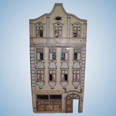 Antique Small Lithograph Doll House Samen-Kolb Shop