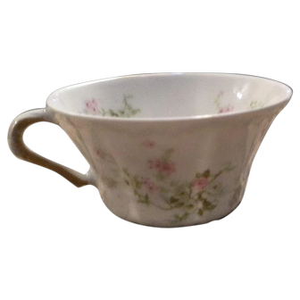 Haviland Limoges Antique Pink & Yellow ROSES Cup