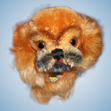 Small Vintage Steiff Peky Dog Toy (companion for Bleuette)