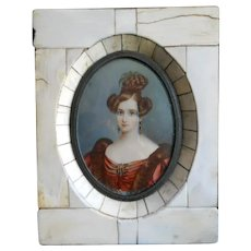 Antique Painting of a Fine Lady