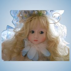 Cindy McClure Original Bluebell Fairy Doll, limited 22/250 by the Artist