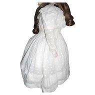 Antique Petit Pois Doll Dress