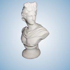 Doll House Vintage Porcelain Greco-Roman Bust
