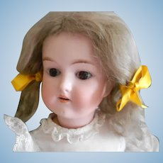 Antique German Bisque Bebe Doll