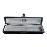 Antique French Jewelers Box