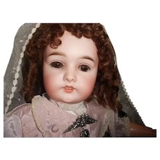 Stunning Antique Princess 1 Bisque Bebe Doll