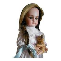 Antique DEP 6 (Tete Jumeau) Bisque Bebe Doll Head