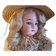 Heinrich  Handwerck 99 DEP Bisque Bebe Doll Head